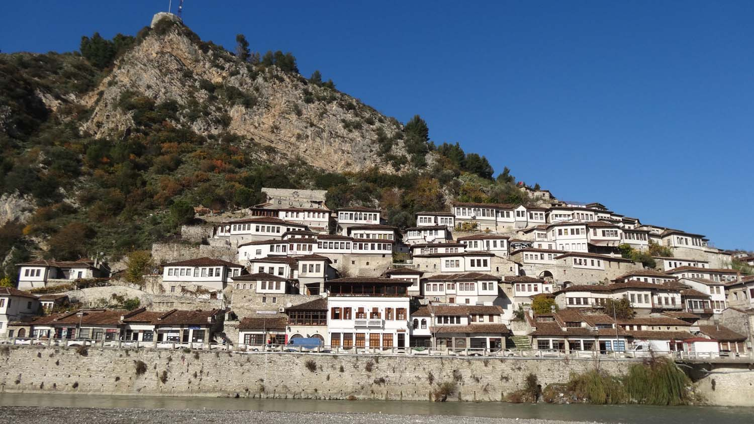 Berat - town of a 1000 windows