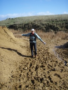 and muddy bits