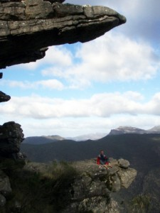 Jon at the lookout point in the Grampians