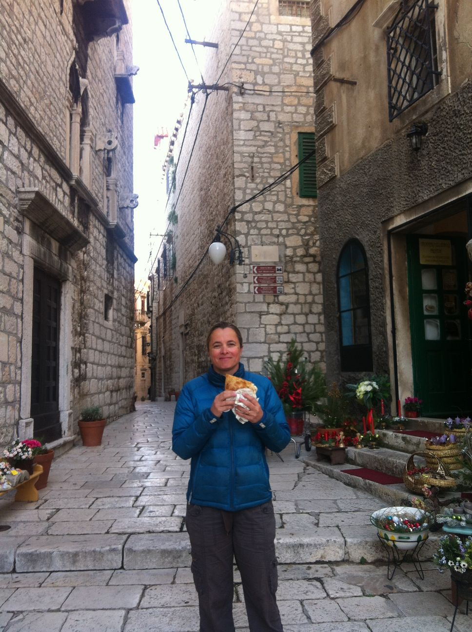 cheese bureks in Sibenik - thanks for the tip Martina!