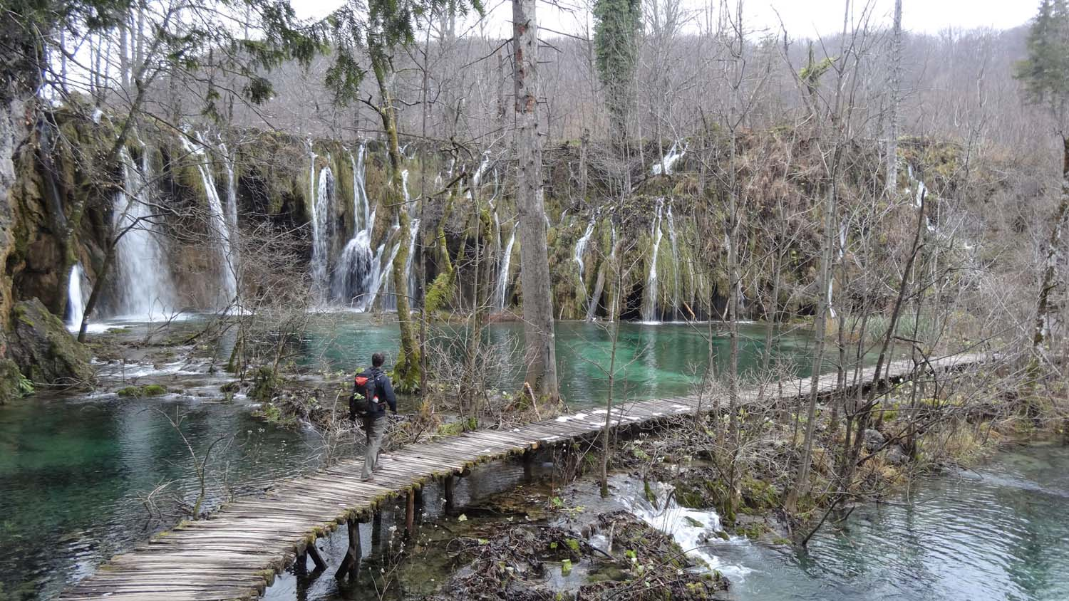 our favourite spot at the Plitvice Lakes