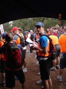 Jon at the start