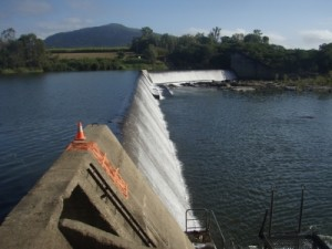 the weir we are portaging around
