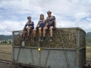 a little break in the sugar cane fields