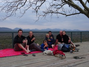 sundowners at Umani Springs