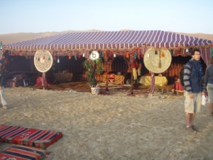beautiful bedouin style setup for camp