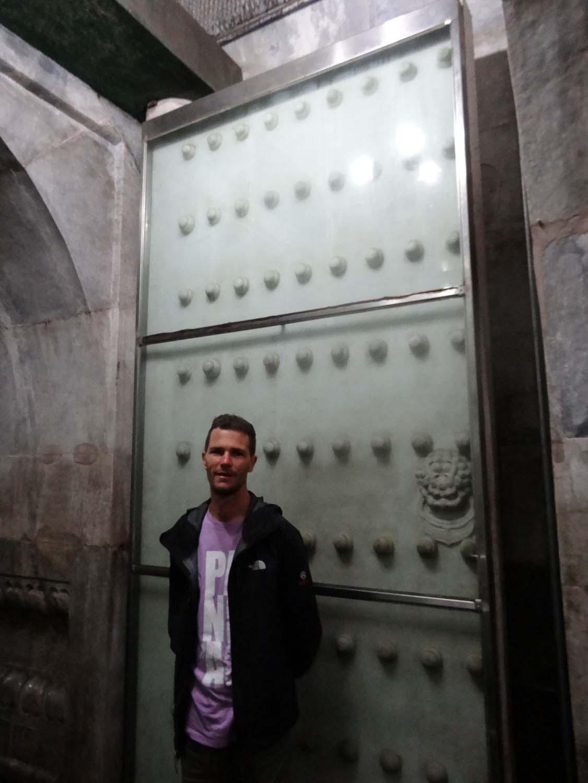 huge solid doors