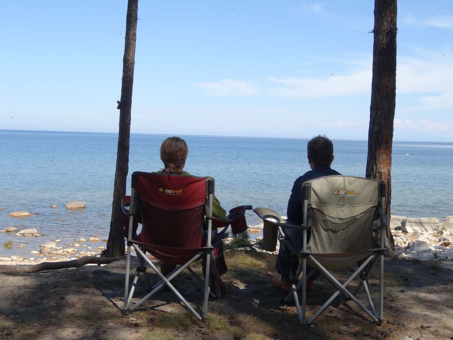we even took some time to relax at Lake Baikal