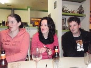 Erin, Jo and Muz
