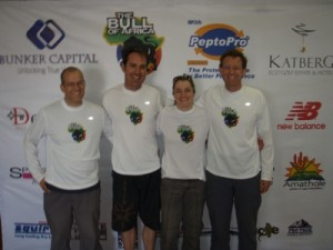 official team photo - Ian, Dave, Jude and Rob