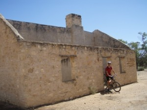 ruins on our ride