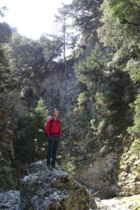 Jon in Imbros Gorge