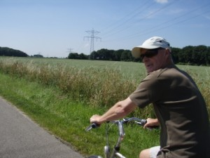 dad cycling