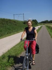 mum cycling