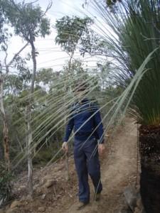 Jon hiking in Deep Creek NP