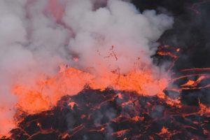 spitting lava, quite impressive