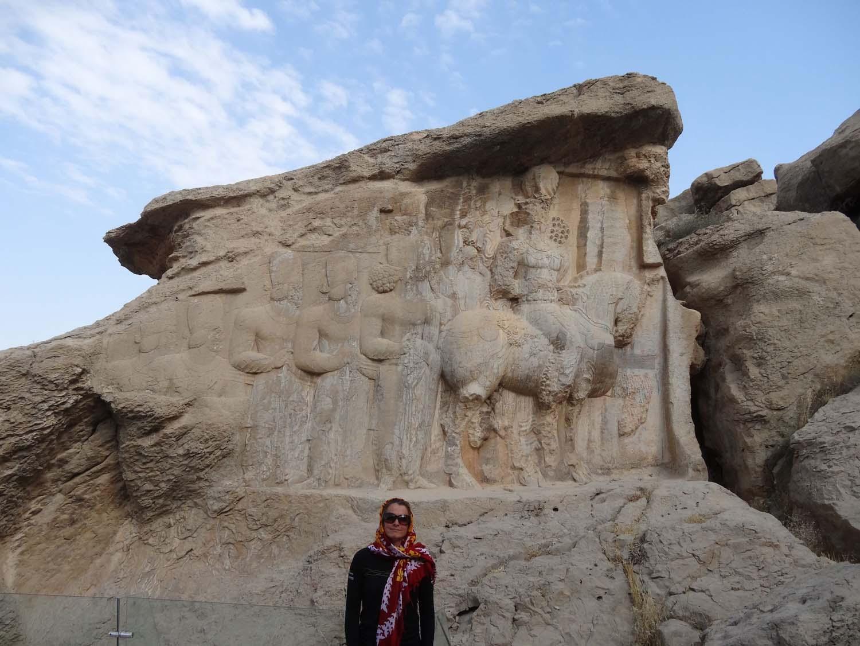 Sassannian bas reliefs at Naqsh-e Rajab - near Persepolis