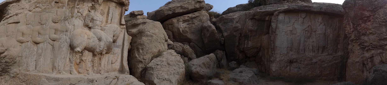 Sassanian bas reliefs at Naqsh-e Rajab – near Persepolis