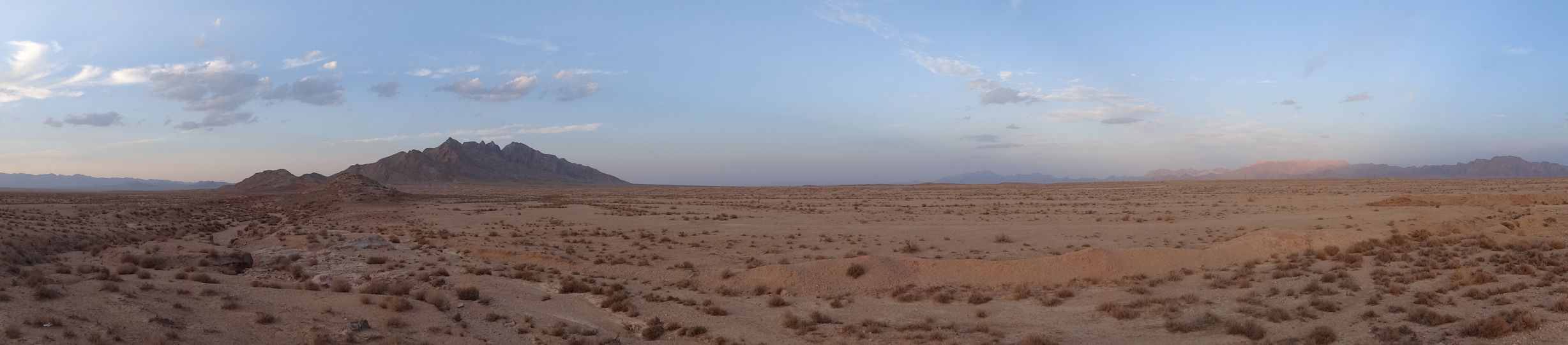 the desert near Yazd