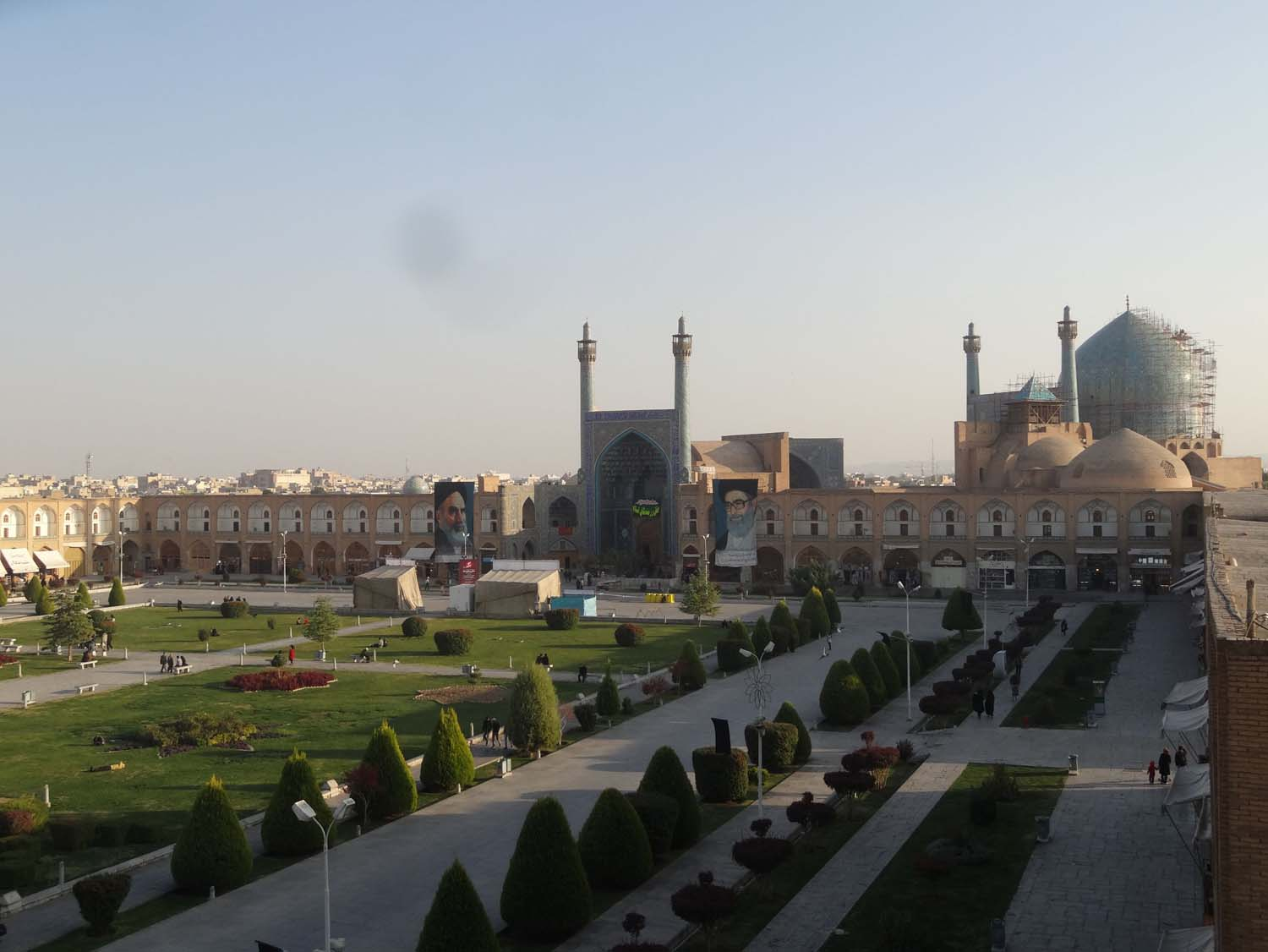 Imam Square - 160 meters wide by 508 meters long!