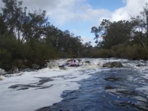 small rapids