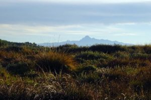 Mt Kenya is visible from the Aberdares