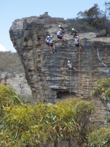 great spot for an abseil