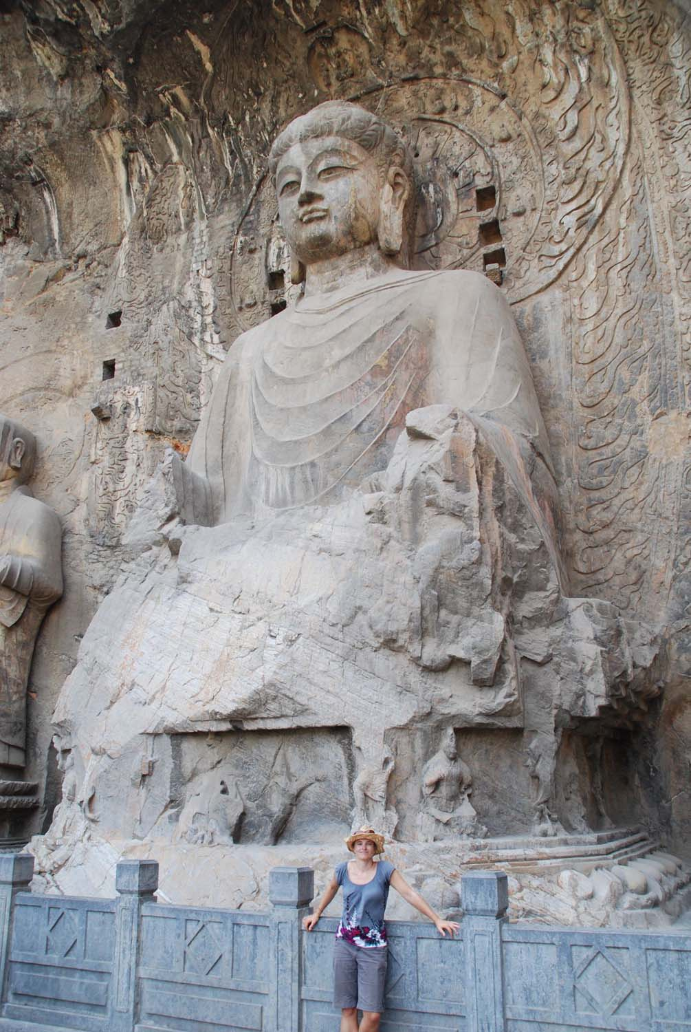 some Buddhas were not damaged or have already been partly restored