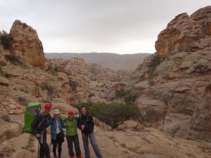 getting very close to the start (for us) of Little Petra, stunning scenery again