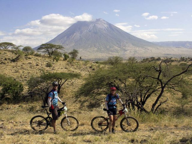 Mountain biking from Kilimanjaro to Ngorongoro
