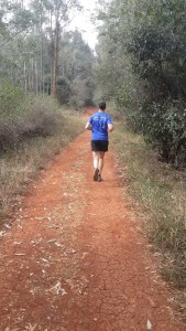 running in Karura