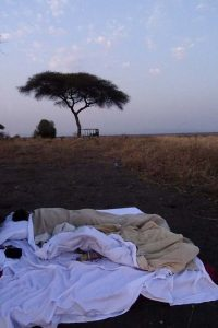 waking up in Katavi NP, why can't every night be like this?