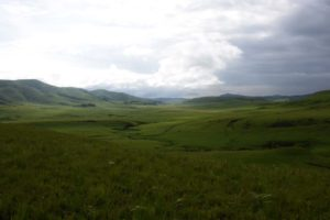 view of one of the valleys in Kitulo NP