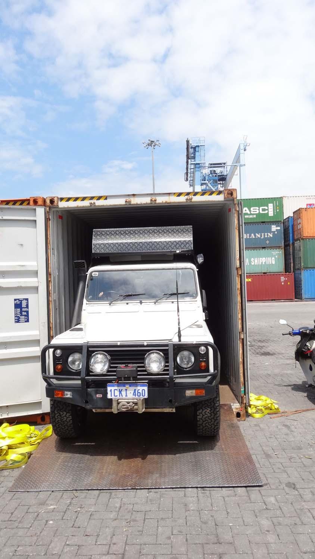 unloading in KL