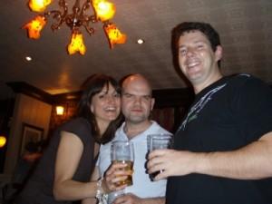 Justine, Luke and Muz