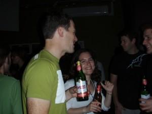 Jon and Victoria