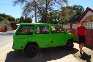 the one and only locally made Madagascar car - the Karenjy