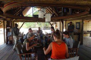 around the table - Lisie, Frank, Petra, Fabio, Jon, Natalie and Barbara (in orange shirt)