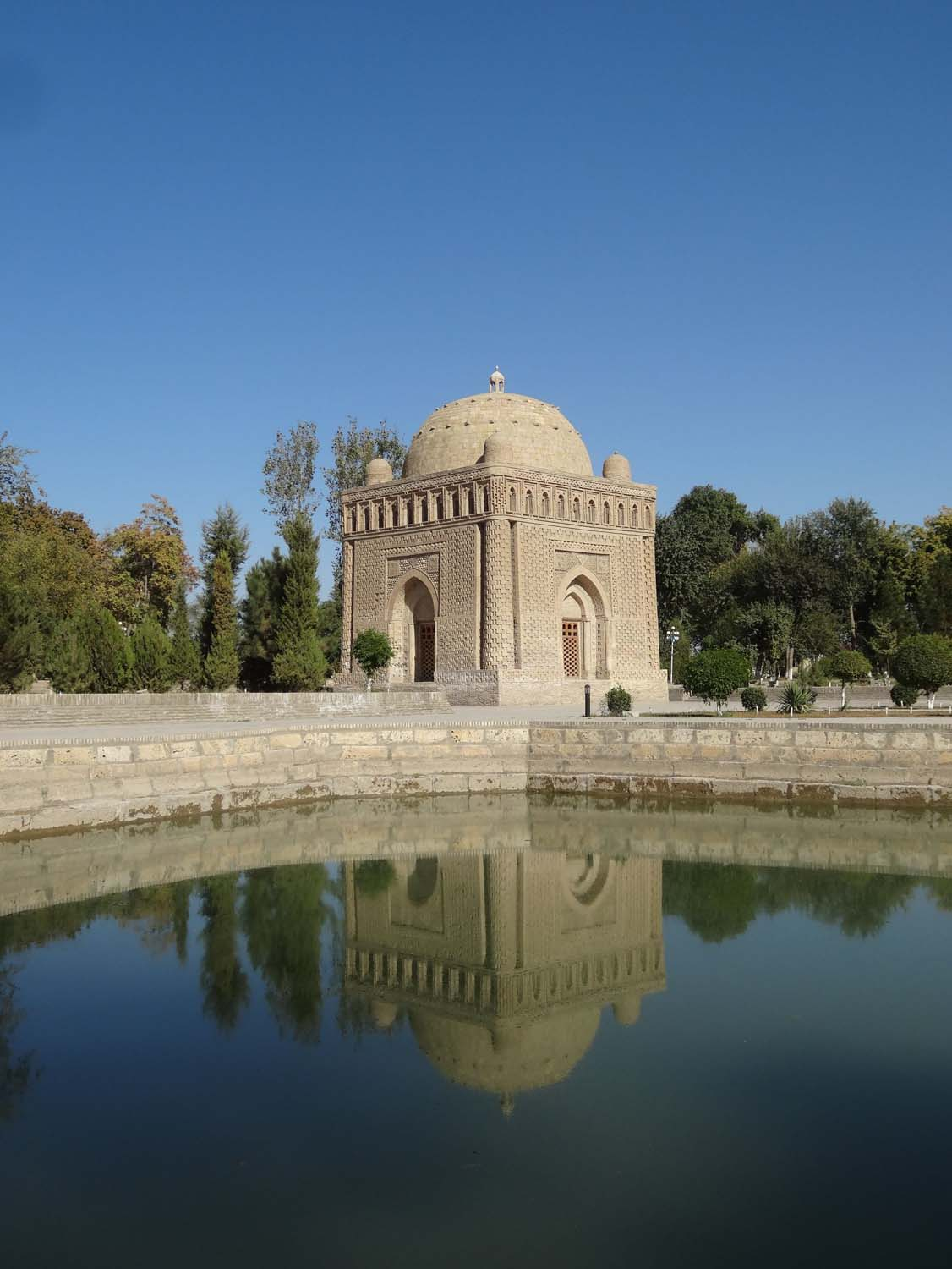 Ismail Samani mausoleum built in 905, still standing unrestored - impressive