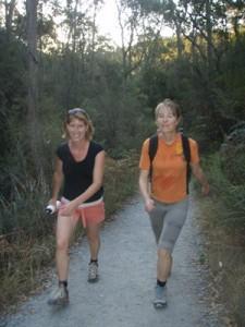 Jen and Cynthia