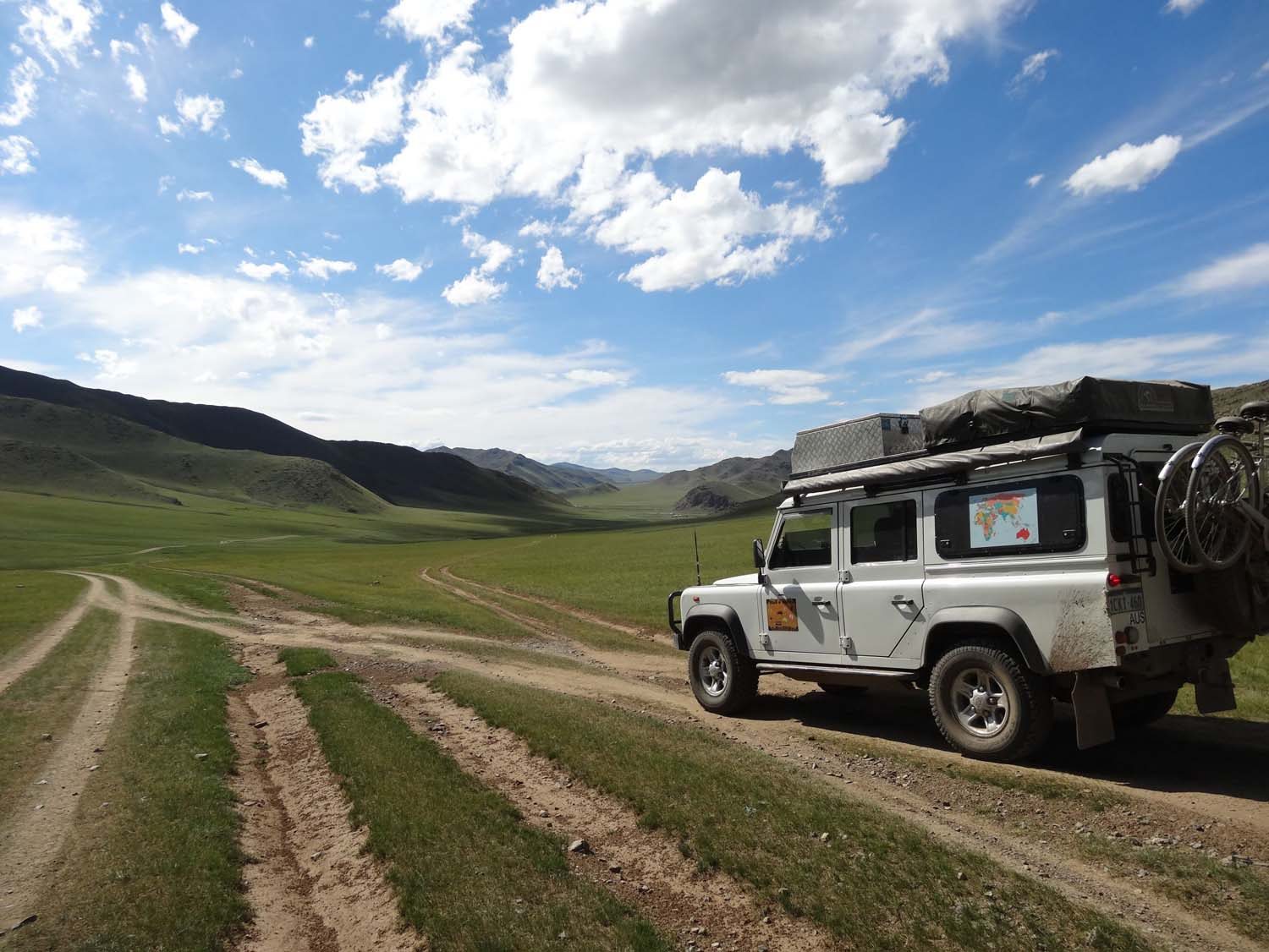 the stunning Orkhon valley