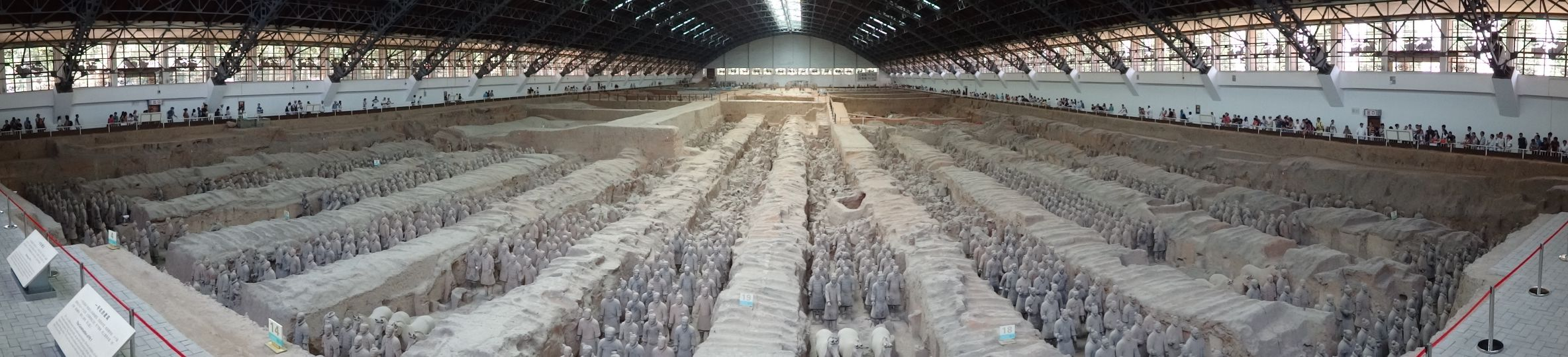 Terracotta Warriors near Xi'an