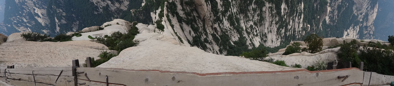 Mount Huashan - plank road