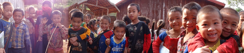 Laos - Houamung village