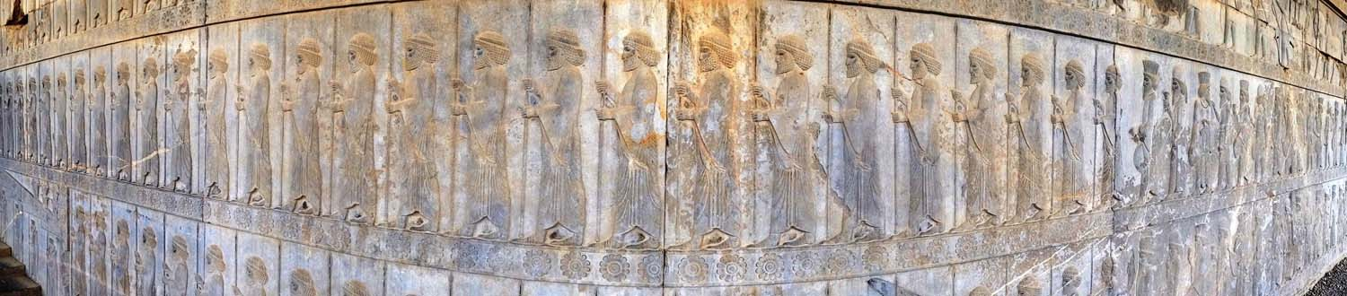 Persepolis - incredible reliefs in Persepolis