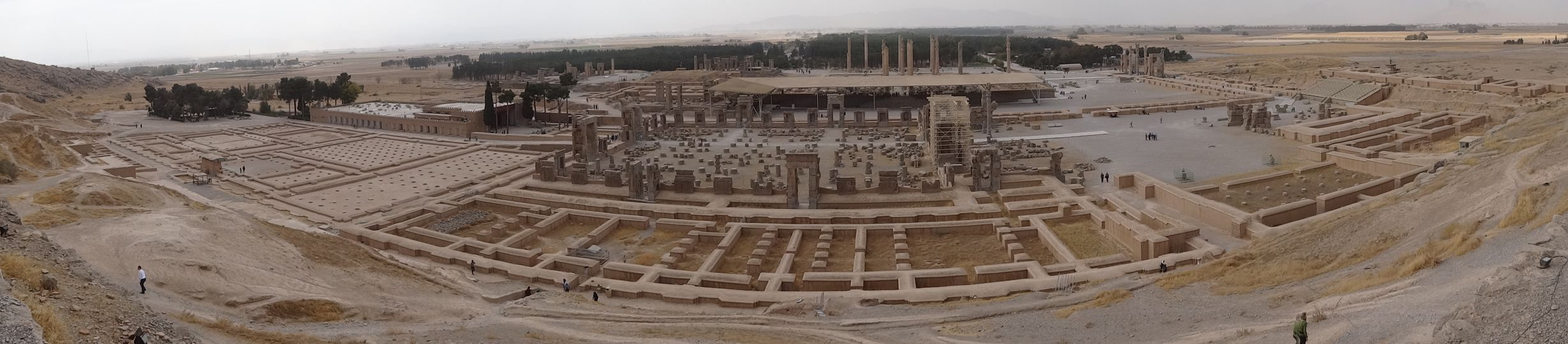 Persepolis - impressive as ruins, wonder what it looked like before