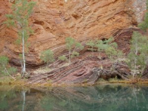 more funky lines in Hamersley gorge