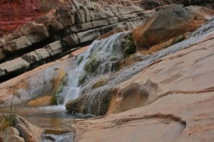 amazing waterfalls in Hamersley Gorge