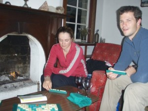 scrabble in the old homestead
