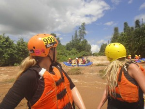 rafting the Tana river